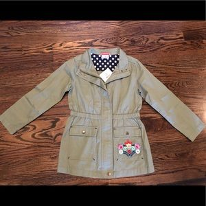 Hanna Andersson jacket, size 130, NWT